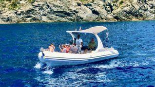 Barca a motore ligura