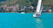 Barca a vela Cinque Terre